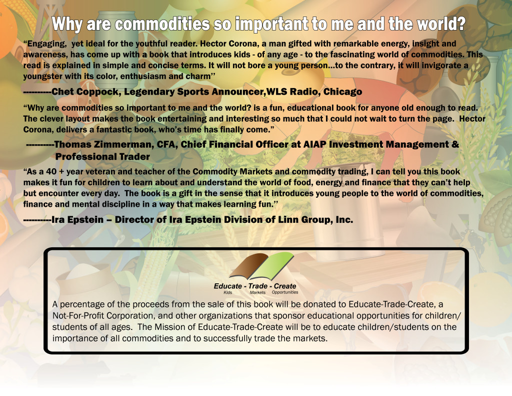 Commodities Book Back Cover